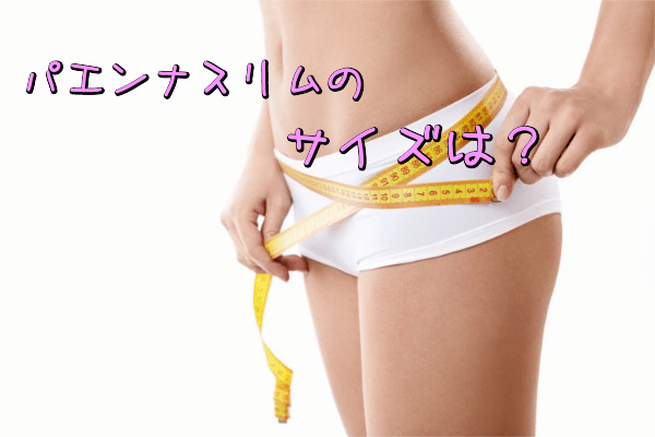 パエンナスリムのサイズ