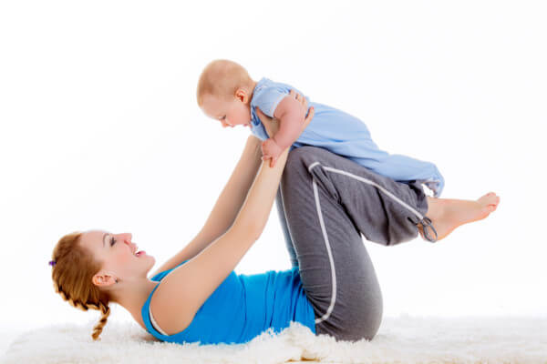 産後ママと赤ちゃん