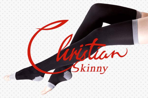 【後悔】クリスチャンスキニーの口コミや効果は嘘?30代ダイコン脚の私が実際に1ヶ月間履いてみた!