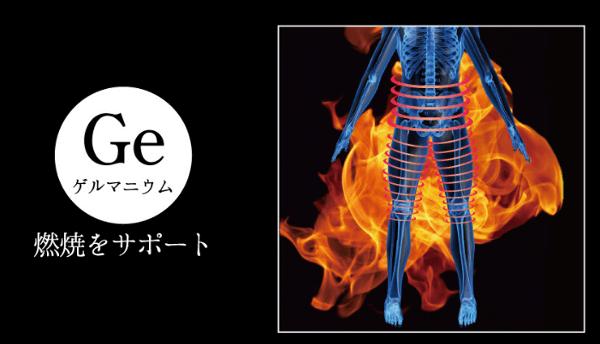 1.ゲルマニウムによる脂肪燃焼