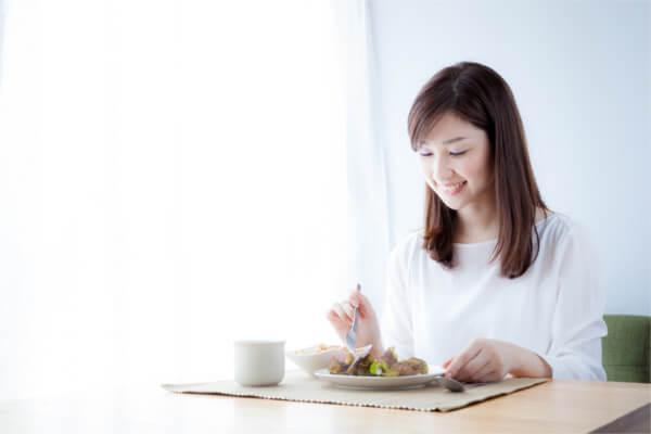 下半身太り解消方法3:食事